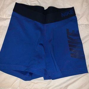 blue Nike pros spandex 💙